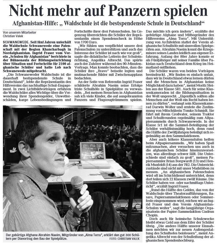 """""""Nicht mehr auf Panzern spielen"""", 12.07.2007"""