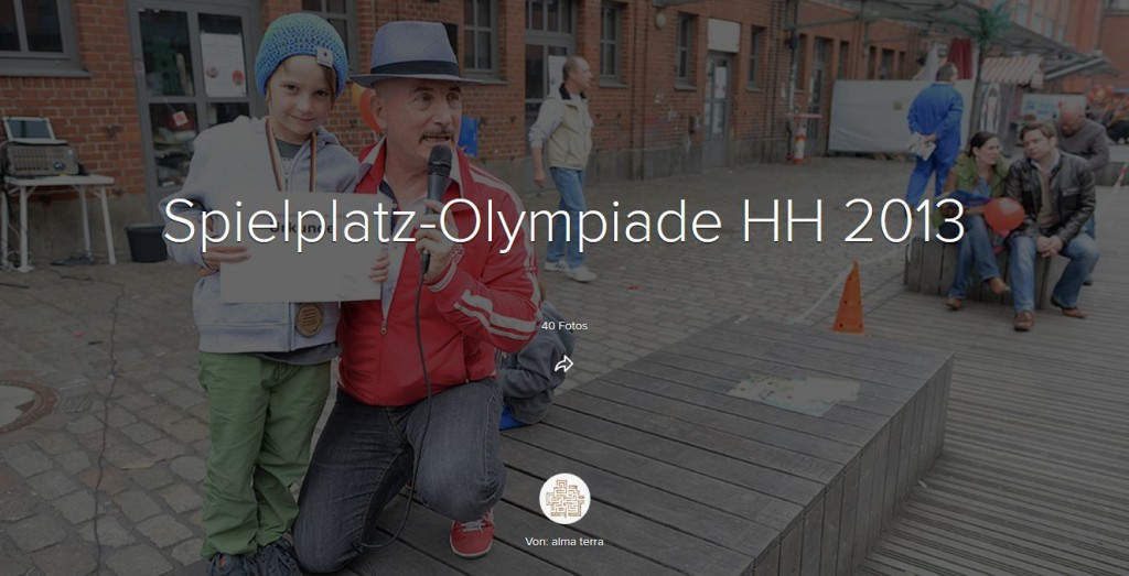 Spielplatz-Olympiade Hamburg 2013